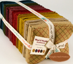 Wool & Needle Flannels III - Fat Quarter Bundle