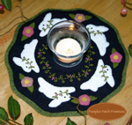 Bunnies Candle Mat Kit