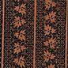 Black Leaf Rows on Brown