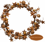 Jingle & Star Large Wreath