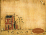 Live Laugh Love Notepad