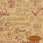 Patchwork Garden Wheat Tan Garden
