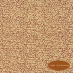 Patchwork Garden Wheat Tan Scripts