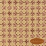 Patchwork Garden Wheat Tan Medallion