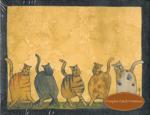 Dancing Cats Notepad