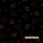 Basic Black Gold Flowers