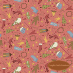 Under the Mistletoe Pink Novelty Toss