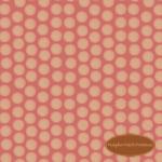 Under the Mistletoe Pink Snowball Dots