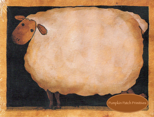 Fat Sheep Notepad