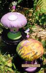 Mellow Mushroom Pincushion