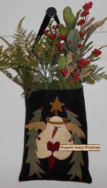 Snowman Christmas Bag