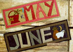 Simple Pleasures Quilts Thru The Year - May & June