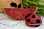 BIG FAT Watermelon Pincushion Pattern