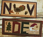 Simple Pleasures Quilts Thru the Year - November & December