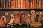Owls & Gourds Pin Cushion