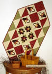 Baskets of Posies Table Runner