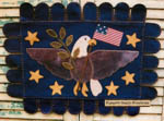 American Eagle Penny Rug