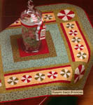 Peppermint Table Topper