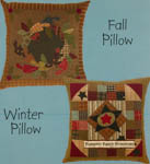 Folk Art Pillows - Fall & Winter