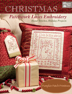 Christmas Patchwork Loves Embroidery Book