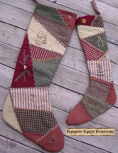 Crazy Christmas Stockings