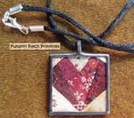 Crazy Heart Pendant Necklace
