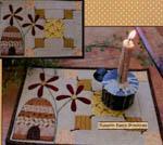 Bee Garden Candle Mat