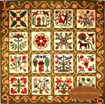 Homage to American Quilt Makers Album Quilt