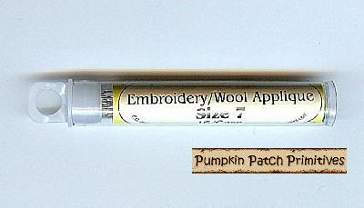 Wool Applique Needles, Sz. 7