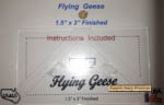 """Bloc_Loc Flying Geese - 1.5"""" x 3"""" Finished"""