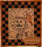Mr. Boo Embroidery Quilt Kit