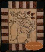Little Acorns Embroidery Quilt Kit