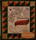 Give Thanks Embroidery Quilt Kit