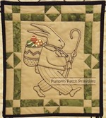 Peter Cottontail, Embroidery Quilt Kit