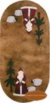 St. Nicholas Mini Mat