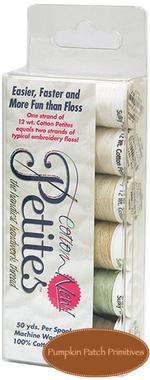 Sulky 12 wt. Cotton Petites�Neutral Sampler Color Pack