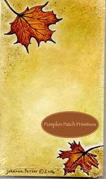 Fall is Here Notepad