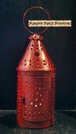 Paul Revere Lantern Ornament, RED