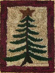 Pine Tree Punchneedle Embroidery Kit