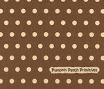 Shasta Dots on Light Brown
