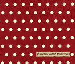 Shasta Dots on Red