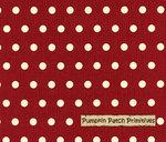 Shasta Dots on Red