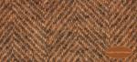 Wool Fat Quarter - Carrot Herringbone