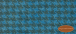 Wool Fat Quarter - Electric Blue Houndstooth