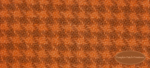 Wool Fat Quarter - Carrot Houndstooth