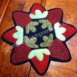 Strawberry Season Candle Mat Kit