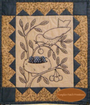 Bluebell Nest Embroidery Quilt Kit