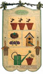 Vintage Potting Shed Pattern Set
