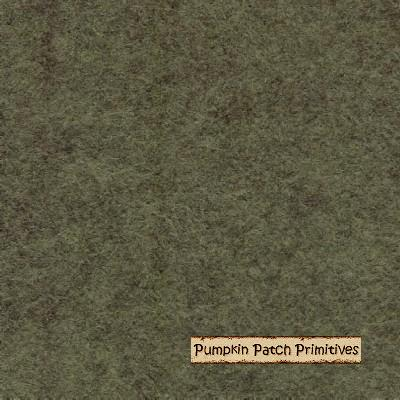 Camouflage Wool Felt