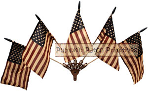 Wall Mounted Flag Holder